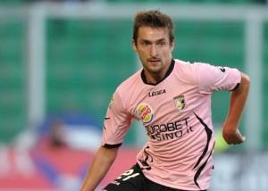 Ci Palermo 27/11/2011 - campionato di calcio serie A / Palermo-Fiorentina / foto Carmelo Imbesi/Image Sport nella foto: Armin Bacinovic