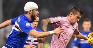 Soccer: Serie A; Sampdoria-Palermo